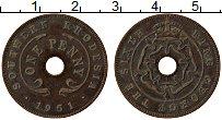 Изображение Монеты Родезия 1 пенни 1951 Медь VF
