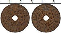 Изображение Монеты Родезия 1 пенни 1952 Медь VF Георг VI