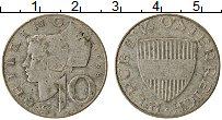 Изображение Монеты Австрия 10 шиллингов 1958 Серебро VF
