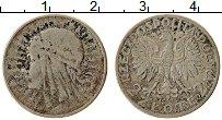 Изображение Монеты Польша 2 злотых 1934 Серебро VF Ядвига