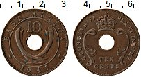 Изображение Монеты Восточная Африка 10 центов 1941 Медь VF Георг VI