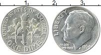Изображение Монеты США 1 дайм 1964 Серебро UNC- D