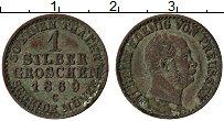Изображение Монеты Пруссия 1 грош 1860 Серебро XF G Вильгельм I