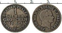 Изображение Монеты Пруссия 1 грош 1849 Серебро VF А. Фридрих Вильгельм