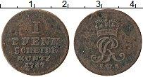 Изображение Монеты Брауншвайг-Каленберг-Ганновер 1 пфенниг 1767 Медь VF