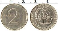 Изображение Монеты Ангола 2 кванза 1977 Медно-никель XF