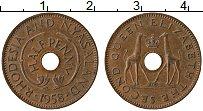 Продать Монеты Родезия 1/2 пенни 1958 Медь
