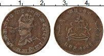 Изображение Монеты Гвалиор 1/4 анны 1929 Медь VF