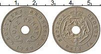 Изображение Монеты Родезия 1 пенни 1940 Медно-никель XF Георг VI