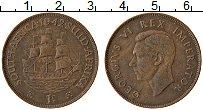 Изображение Монеты Великобритания Южная Африка 1 пенни 1942 Бронза XF
