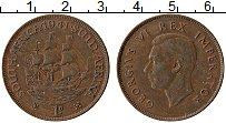 Изображение Монеты Южная Африка 1 пенни 1941 Бронза XF