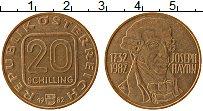 Изображение Монеты Австрия 20 шиллингов 1982 Латунь XF 250 лет со дня рожде