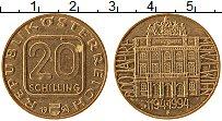 Изображение Монеты Австрия 20 шиллингов 1994 Латунь XF
