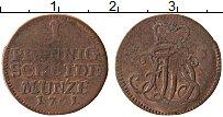 Продать Монеты Саксен-Веймар-Эйзенах 1 пфенниг 1761 Медь
