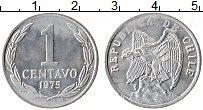 Изображение Монеты Чили 1 сентаво 1975 Алюминий XF