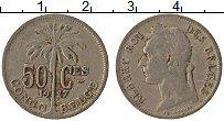 Изображение Монеты Бельгийское Конго 50 сантим 1927 Медно-никель VF