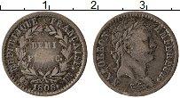 Изображение Монеты Франция 1/2 франка 1808 Серебро VF+