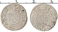 Изображение Монеты Германия 1 крейцер 1668 Серебро VF Хагенах