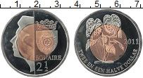 Продать Монеты Бонайре 2 1/2 доллара 2011 Биметалл