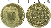 Изображение Монеты Сомалиленд 5 шиллингов 2017 Латунь UNC