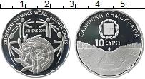 Изображение Монеты Греция 10 евро 2011 Серебро Proof XIII специальные мир