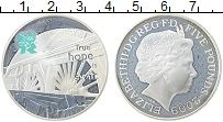 Изображение Монеты Великобритания 5 фунтов 2009 Серебро Proof