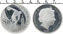 Изображение Монеты Соломоновы острова 10 долларов 2008 Серебро Proof Елизавета II. Олимпи