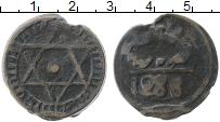 Изображение Монеты Марокко 1 фалус 1871 Медь VF Монетный двор Фес