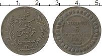Изображение Монеты Тунис 5 сантим 1891 Медь XF