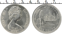Изображение Монеты Остров Мэн 1 крона 1979 Медно-никель UNC- Елизавета II. 1000 л