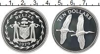 Изображение Монеты Белиз 10 долларов 1979 Серебро Proof
