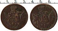 Продать Монеты 1741 – 1761 Елизавета Петровна 1 копейка 1755 Медь