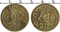 Изображение Монеты Польша 2 злотых 2007 Латунь UNC- Польша/Леон Вычулков