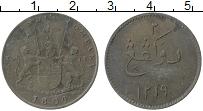 Продать Монеты Суматра 2 кеппинга 1804 Медь