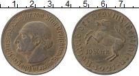 Изображение Монеты Вестфалия 10 марок 1921 Бронза XF