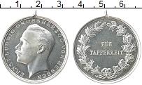 Изображение Монеты Гессен Медаль 0 Серебро UNC- Медаль за отвагу. Эр