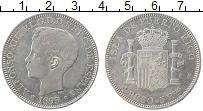 Продать Монеты Пуэрто-Рико 1 песо 1893 Серебро