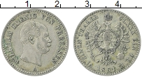 Изображение Монеты Пруссия 1/6 талера 1861 Серебро XF А Вильгельм I