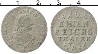 Изображение Монеты Пруссия 1/12 талера 1751 Серебро VF А. Фридрих II