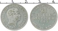 Изображение Монеты Пруссия 2 1/2 гроша 1842 Серебро XF А. Фридрих Вильгельм