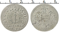 Изображение Монеты Бранденбург 1/12 талера 1693 Серебро VF