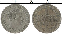 Изображение Монеты Пруссия 1 грош 1833 Серебро XF А. Фридрих Вильгельм