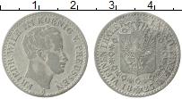 Изображение Монеты Пруссия 1/6 талера 1825 Серебро XF А Фридрих Вильгельм