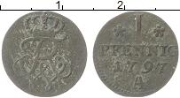 Изображение Монеты Пруссия 1 пфенниг 1797 Медь VF А Вензель Фридрих Ви