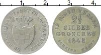 Изображение Монеты Германия Биркенфелд 2 1/2 гроша 1848 Серебро XF