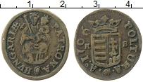 Изображение Монеты Венгрия 1 полтура 1706 Медь XF Мадонна с ребенком