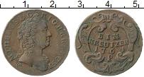 Изображение Монеты Австрия 1 крейцер 1761 Медь XF