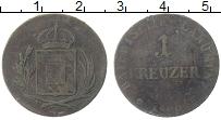 Изображение Монеты Бавария 1 крейцер 1800 Медь VF Герб