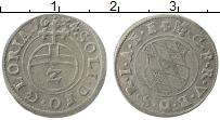 Изображение Монеты Бавария 2 крейцера 1624 Серебро XF Герб