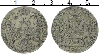 Продать Монеты Нюрнберг 20 крейцеров 1766 Серебро